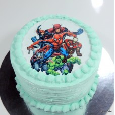 Tort crema Spiderman TC410