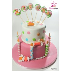 Tort Botez candy land TB150